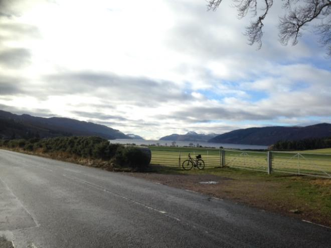 approaching the south side of Loch Ness